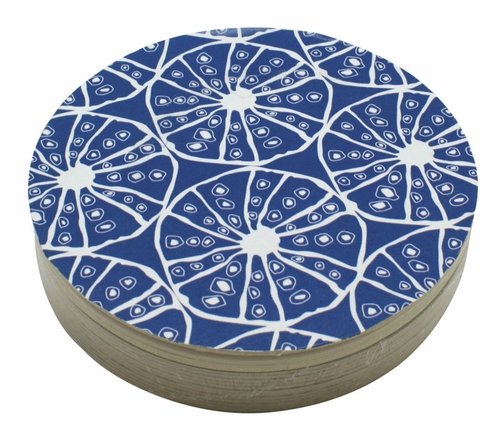 Sea Urchin 4-Inch Coasters (Pack of 12) by Mariposa