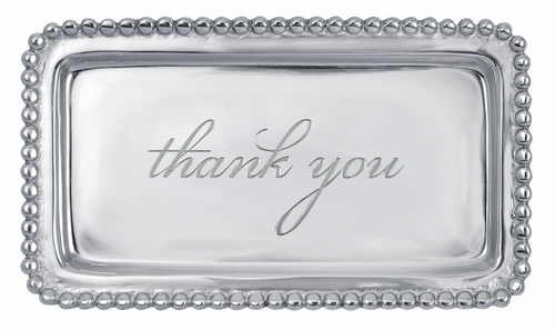 Thank You Statement Tray by Mariposa