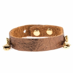 Bronze Refined Cuff - Antique Gold  - Lenny & Eva