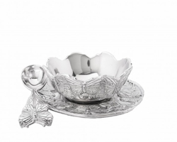 PRE-ORDER - Butterfly 3-Piece Condiment Set by Arthur Court