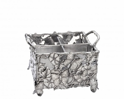 Butterfly Flatware Caddy by Arthur Court