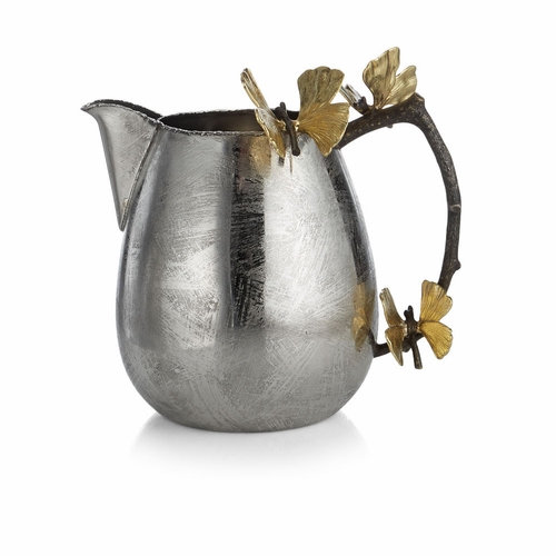 Butterfly Ginkgo Pitcher by Michael Aram