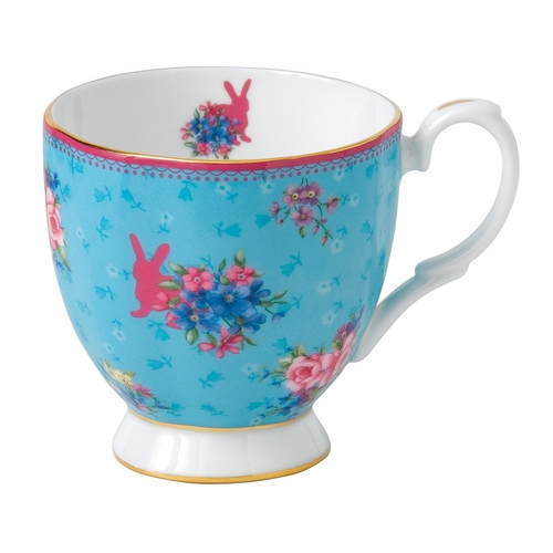 PRE-ORDER - Available Late May - Candy Honey Bunny Vintage Mug by Royal Albert - Special Order