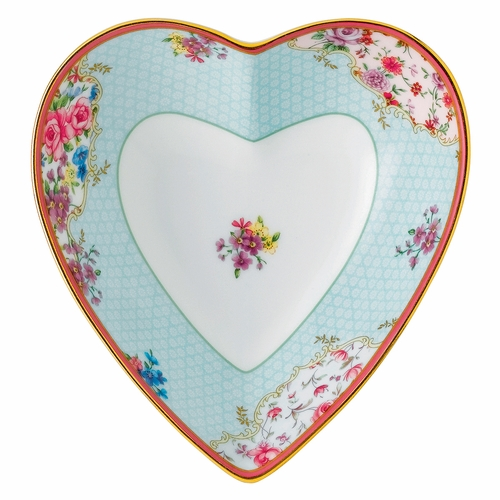 Candy Sitting Pretty Heart Tray by Royal Albert - Special Order