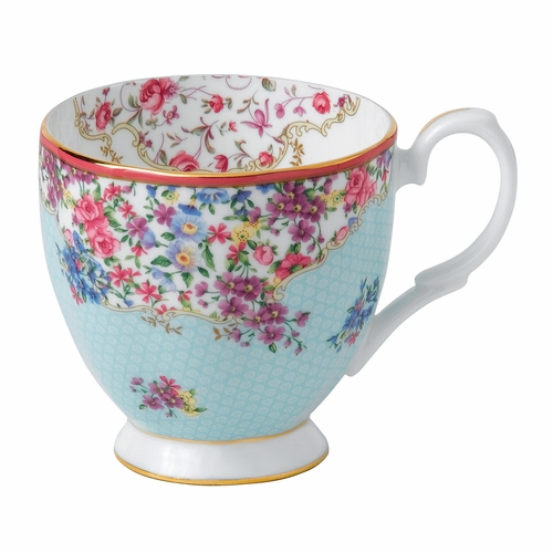 Candy Sitting Pretty Vintage Mug by Royal Albert - Special Order (Available October 2020)