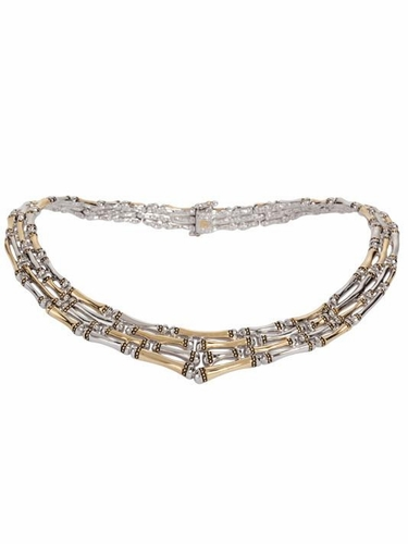 """Canias 4-Row 17.5"""" Necklace by John Medeiros - Special Order"""