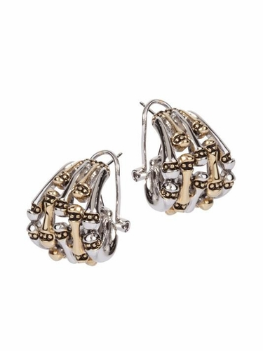 Canias 5-Row Omega Clip Post Earrings by John Medeiros - Special Order