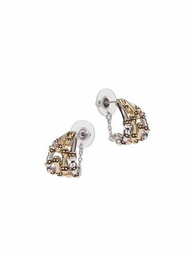 Canias Safety Chain Post Earrings by John Medeiros