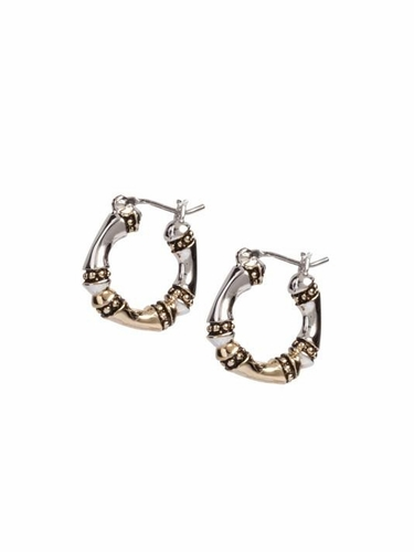 Canias Small Hoop Earrings by John Medeiros