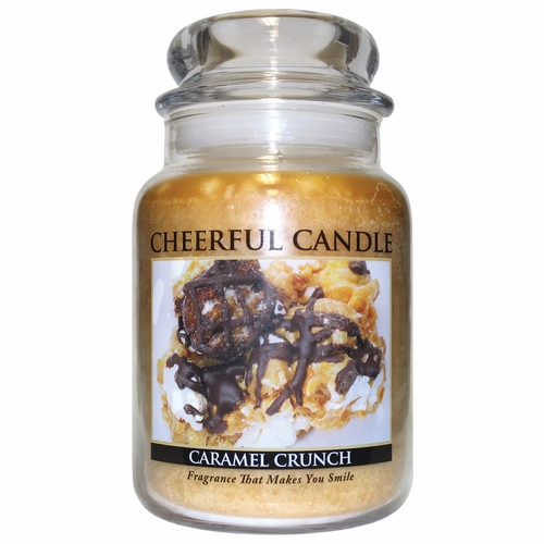 Caramel Crunch 24 oz. Cheerful Candle by A Cheerful Giver