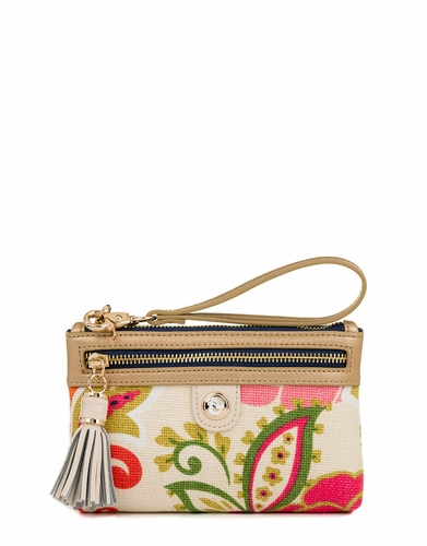 Carson Cottage Tassel Wristlet by Spartina 449