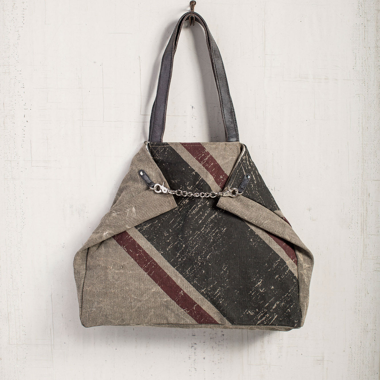 chained up tote bag by mona b