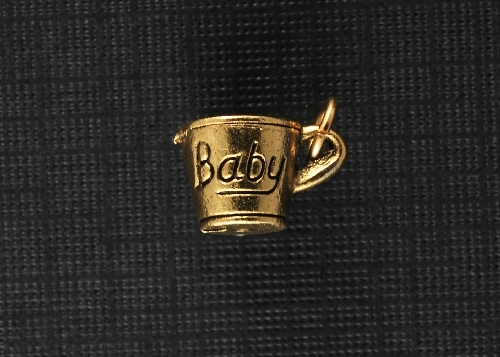 Charm Gold Baby Cup by Beaucoup Designs