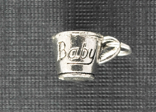 Charm Silver Baby Cup by Beaucoup Designs