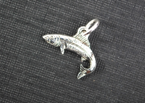 Charm Silver Fish by Beaucoup Designs