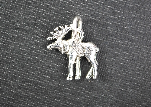 Charm Silver Moose by Beaucoup Designs