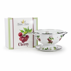 Cherry Colander Gift Set by Golden Rabbit
