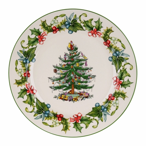 christmas tree 12 inch buffet platter by spode