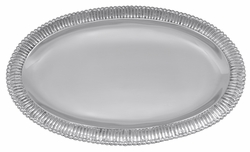 Classic Fanned Oval Platter by Mariposa