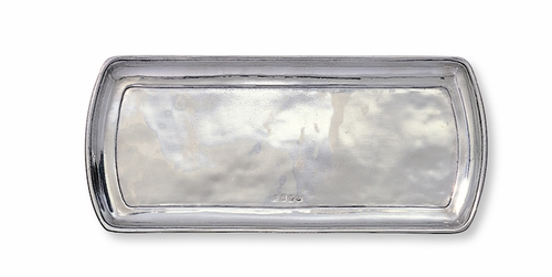 Classic Finish Narrow Tray by Match Pewter