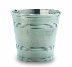 Classic Waste Basket by Match Pewter