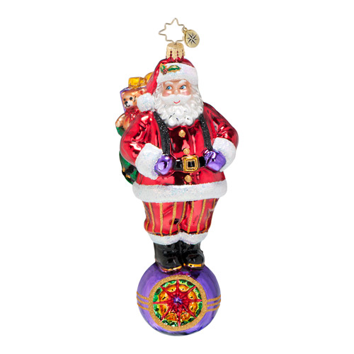 Christmas reflections ornament by christopher radko for Christmas ornaments clearance
