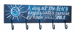 Beach Day Chalk Hook Board - Primitives by Kathy