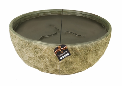 Greenhouse Ribbonwick Green Round Courtyard Candle