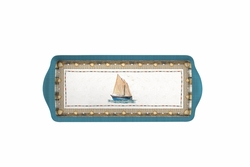 Coastal Breeze Sandwich Tray by Pimpernel
