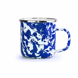 Set of 4 - Cobalt Swirl 12 oz. Mug by Golden Rabbit