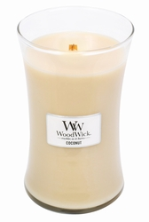 Coconut WoodWick Candle 22 oz.   Woodwick Candles 22 oz.