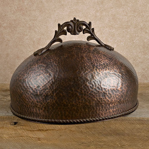 Antique Copper Hammered Dome Gg Collection