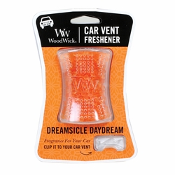 Dreamsicle Daydream WoodWick Car Vent Freshener | Discontinued & Seasonal WoodWick Items!