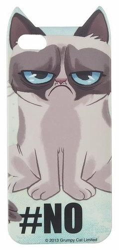 Grumpy Cat iPhone 5 Cover - No