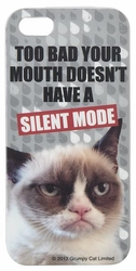 Grumpy Cat iPhone 5 Cover - Silent Mode