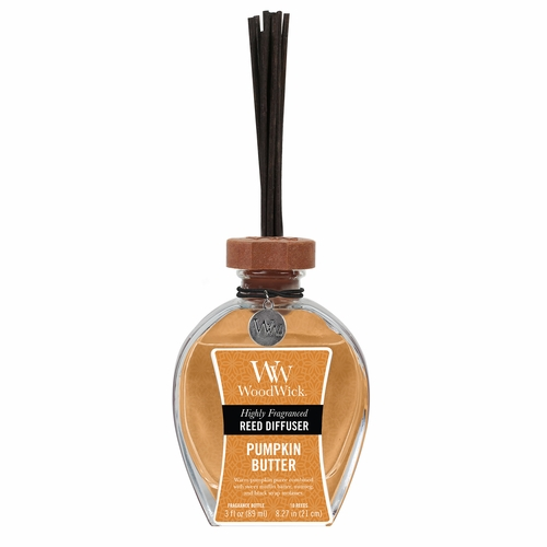 Pumpkin Butter WoodWick 3 oz. Reed Diffuser