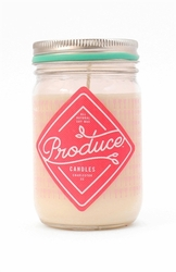 ~Rhubarb 9 oz. Produce Candle - Spring Limited Edition | Produce Candles