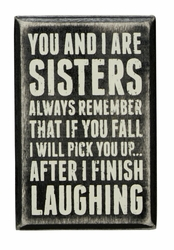Sisters Always Box Sign - Primitives by Kathy