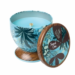 Tropical Oasis WoodWick Gallerie Collection Candle