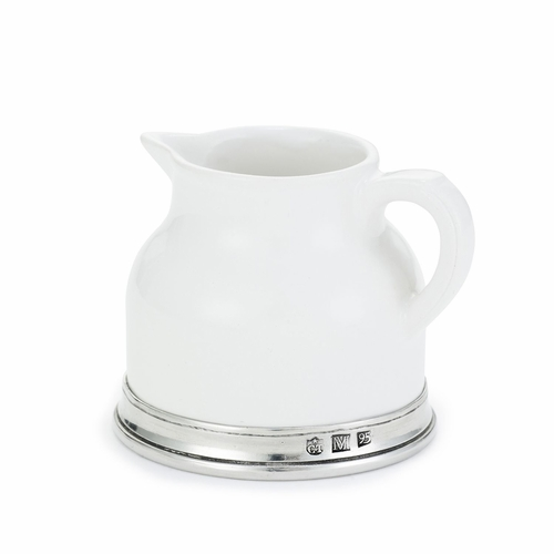 Convivio Creamer by Match Pewter
