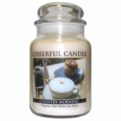 Country Morning 24 oz. Cheerful Candle by A Cheerful Giver
