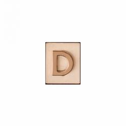 """D"" AKA Monogram Letter & Icon Spacer by Spartina 449"