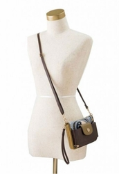 Dark Roast Crossbody Strap by Spartina 449