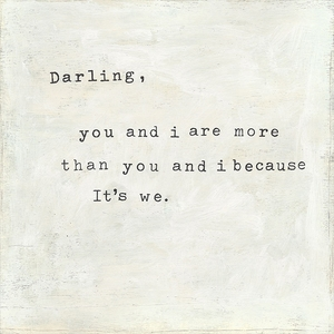 Darling You And I Art Print Collection by Sugarboo Designs