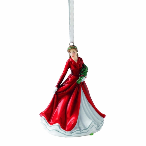 Deck the Halls Christmas Ornament by Royal Doulton - Special Order