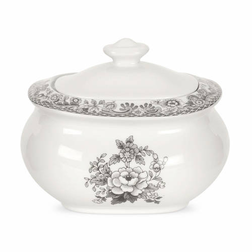 Delamere Rural Covered Sugar Bowl by Spode