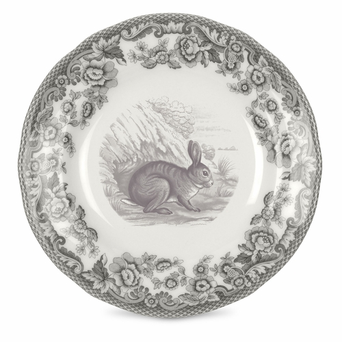 Delamere Rural Set of 4 Rabbit Bread And Butter Plates by Spode