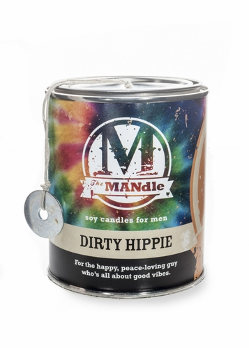 Dirty Hippie 15 oz. Paint Can MANdle by Eco Candle Co.