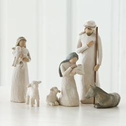 6 Piece Nativity by Willow Tree