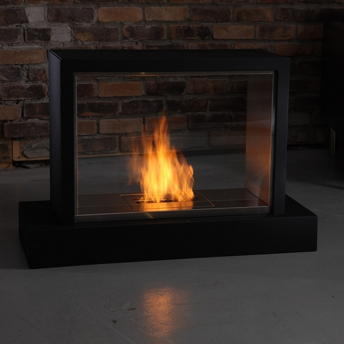 Brilliant Insight Black Ventless Gel Fireplace By Real Flame Home Remodeling Inspirations Genioncuboardxyz